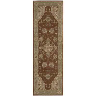 Lundeen Rust Area Rug Rug Size: Runner 26 x 8