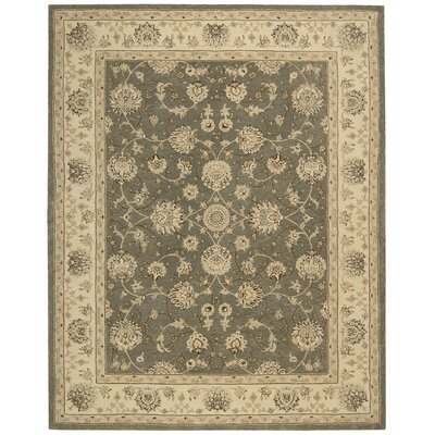 Lundeen Slate Area Rug Rug Size: Rectangle 99 x 139