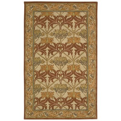 Lunada Beige Area Rug Rug Size: Rectangle 5 x 8