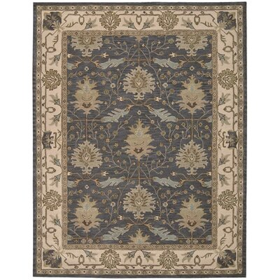 Constance Hand-Tufted Blue Area Rug Rug Size: Rectangle 8 x 106