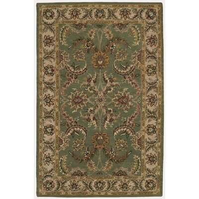 Lunada Green Area Rug Rug Size: Rectangle 5 x 8