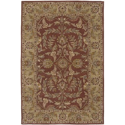 Lunada Rust Area Rug Rug Size: Rectangle 5 x 8