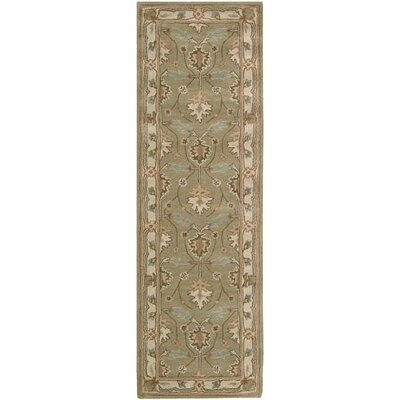 Lunada Hand-Woven Beige/Taupe Area Rug Rug Size: Runner 23 x 76