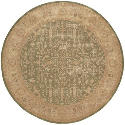Fullmer Area Rug Rug Size: Round 8