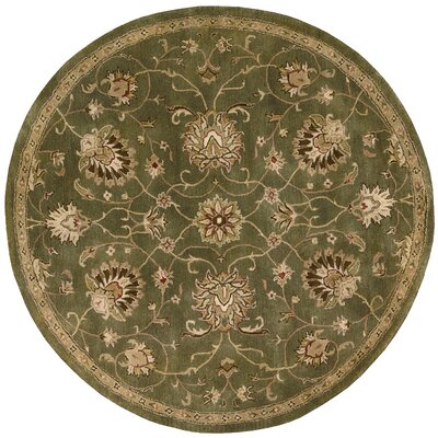 Fullmer Area Rug Rug Size: Round 6