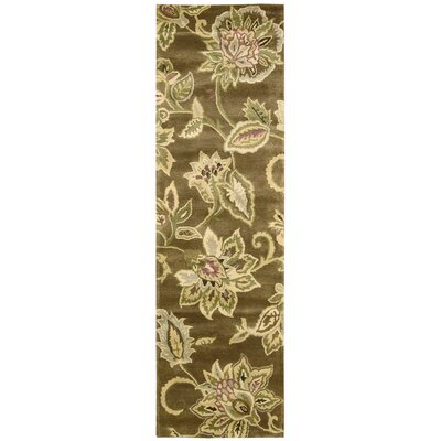 Morgan Bronze Area Rug Rug Size: Runner 24 x 8