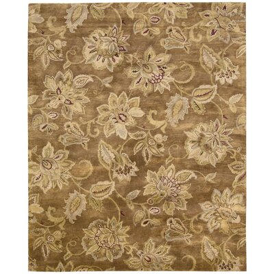 Morgan Bronze Area Rug Rug Size: 96 x 136