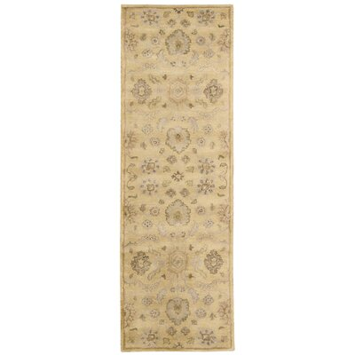 Fullmer Light Gold Area Rug Rug Size: Runner 24 x 8