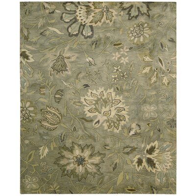 Fullmer Silver Area Rug Rug Size: 96 x 136