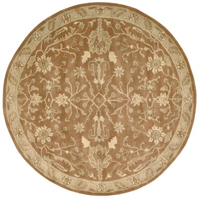 Fullmer Terraco Area Rug Rug Size: Round 6