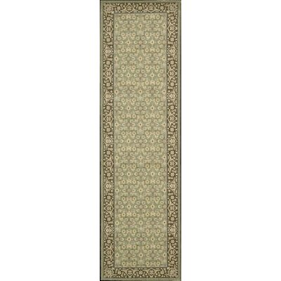 Berry Green Area Rug Rug Size: Runner 23 x 8