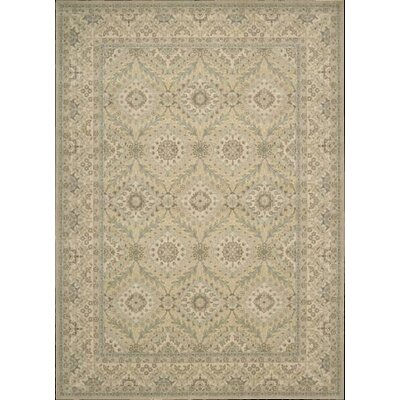 Stonekeep Light Gold Area Rug Rug Size: 53 x 75