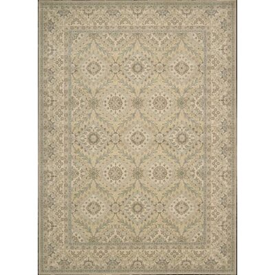 Berry Light Gold Area Rug Rug Size: 96 x 13