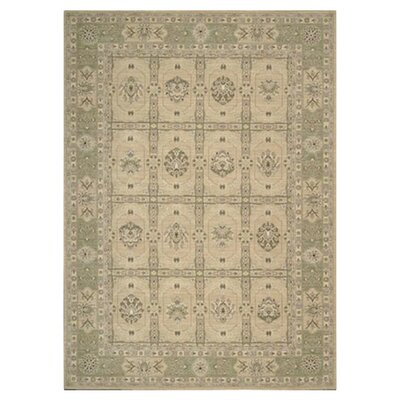Stonekeep Sand Oriental Area Rug Rug Size: Rectangle 36 x 56
