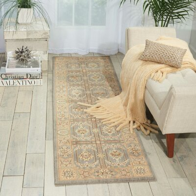 Stonekeep Slate Area Rug Rug Size: Rectangle 2 x 3