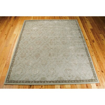 Fraserburgh Beige/Blue Cloud Area Rug Rug Size: 79 x 99