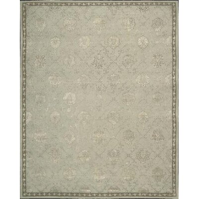 Fraserburgh Beige/Blue Cloud Area Rug Rug Size: 86 x 116