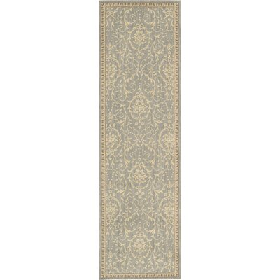 Lundon Blue/Tan Rug Rug Size: Rectangle 79 x 1010