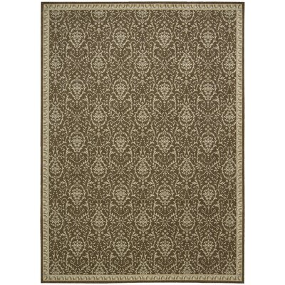Lundon Chocolate Rug Rug Size: 36 x 56