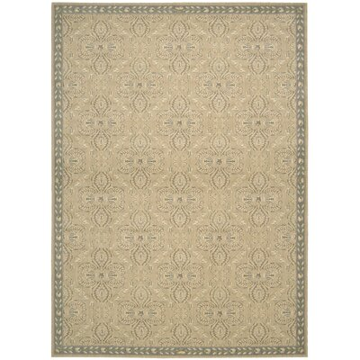 Lundon Sand Rug Rug Size: Rectangle 53 x 75