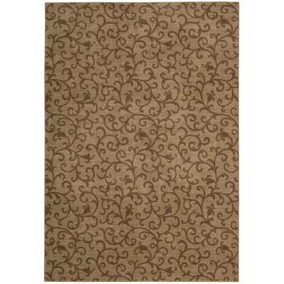 Robina Gold Rug Rug Size: Rectangle 56 x 75