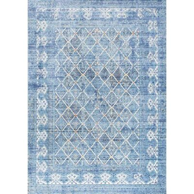 Aghalee Dark Blue Area Rug