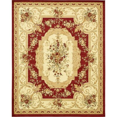 Sawyer Beige / Red Area Rug