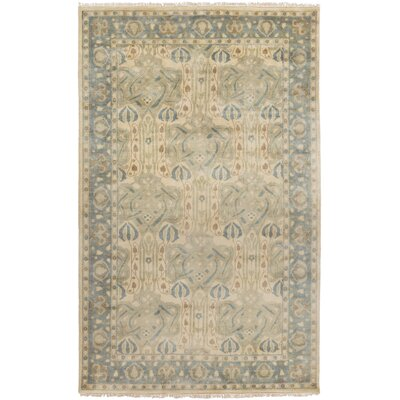 Nevins Light Gray/Moss Area Rug Rug Size: Rectangle 2 x 3