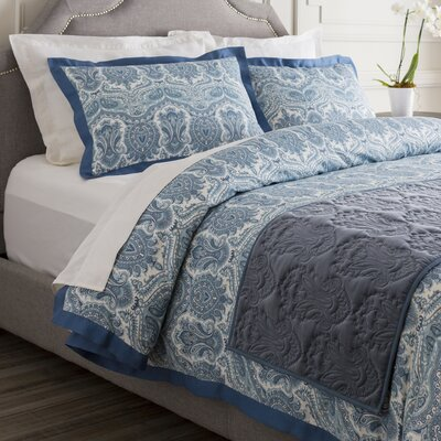Quan Bed Runner Color: Marine