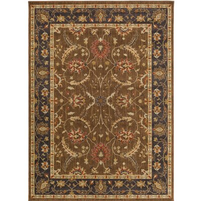 Russo Brown/Neutral Area Rug Rug Size: 710 x 910