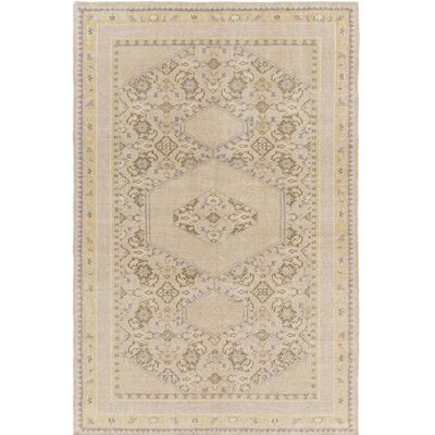 Palko Hand-Knotted Neutral Area Rug