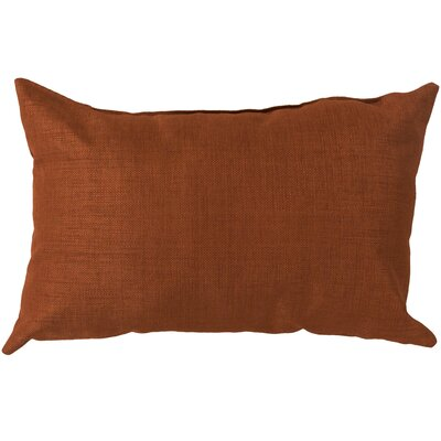 Hullinger Indoor/outdoor Lumbar Pillow Color: Orange