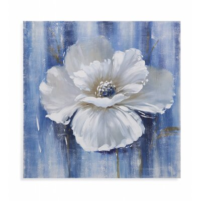 Beauty in White I Painting Print on Canvas