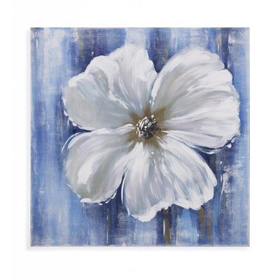 Beauty in White II Painting Print on Canvas