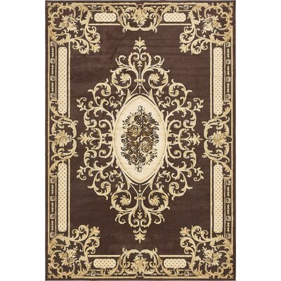 Levy Brown Area Rug Rug Size: 10 x 145
