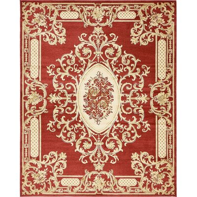 Carmagrim Red Area Rug