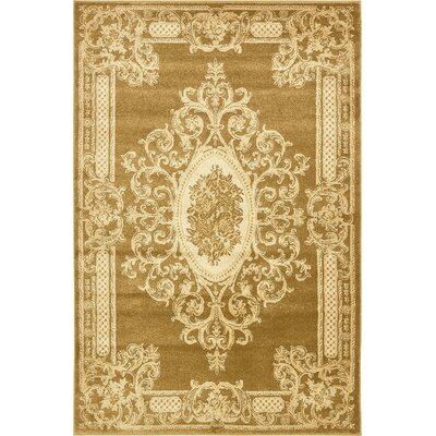 Everhart Gold Area Rug