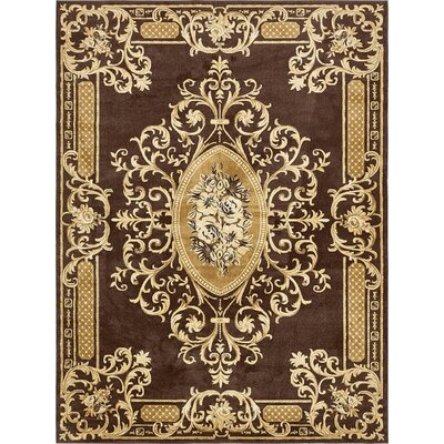 Fagaras Brown Area Rug