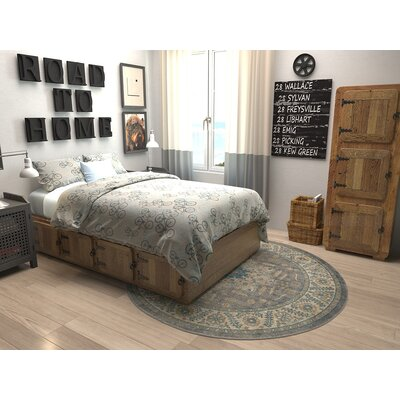 Kerensa�Gray Area Rug Rug Size: Rectangle 10 x 13