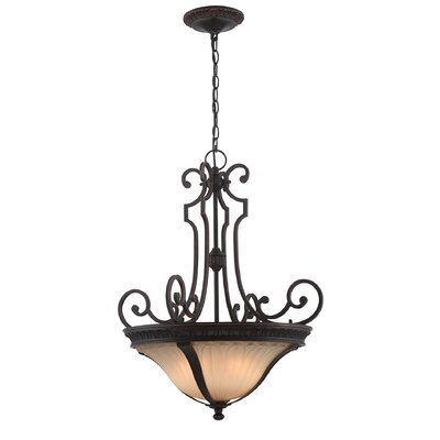 Jacobson 3-Light Inverted Pendant