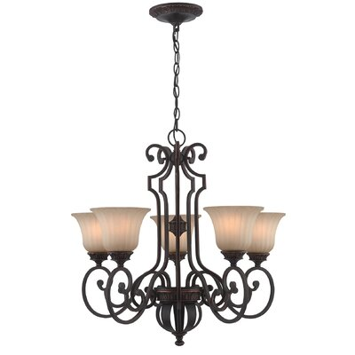 Jacobson 5-Light Shaded Chandelier