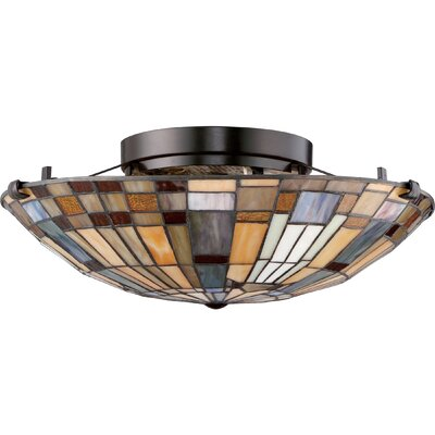 Bush 2-Light Floating Flush Mount