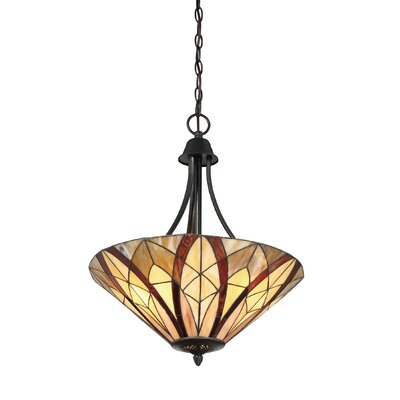 Garner 3-Light Inverted Pendant