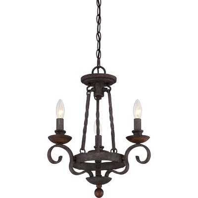 Allston 3-Light Candle-Style Chandelier