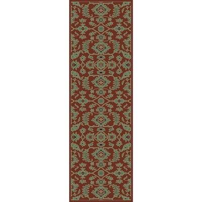 Nolan Hand-Tufted Dark Brown Area Rug Rug size: Runner 26 x 8