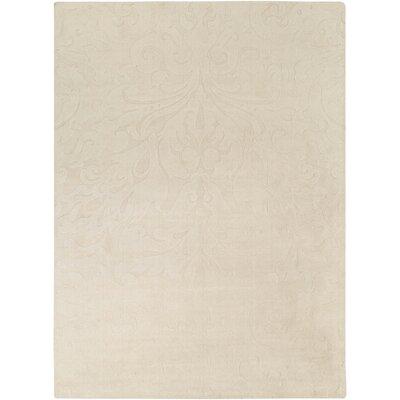 Rushden Hand-Loomed Khaki Area Rug Rug size: 8 x 11