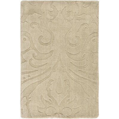 Rushden Hand-Loomed Wheat Area Rug Rug Size: 5 x 8