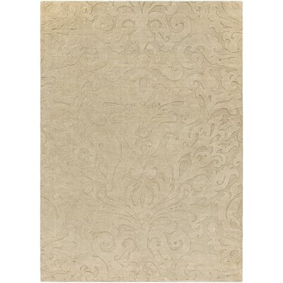 Ella Hand-Woven Natural Area Rug Rug Size: Rectangle 33 x 53