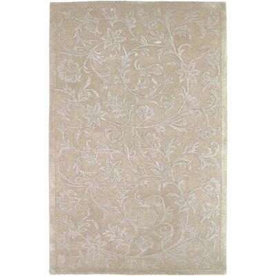 Tullia Hand-Tufted Taupe/Light Gray Area Rug Rug size: 5 x 8
