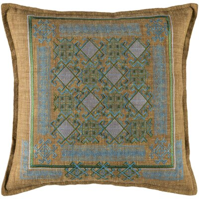 Kirshelle Throw Pillow Size: 18 H x 18 W x 4 D, Color: Blue